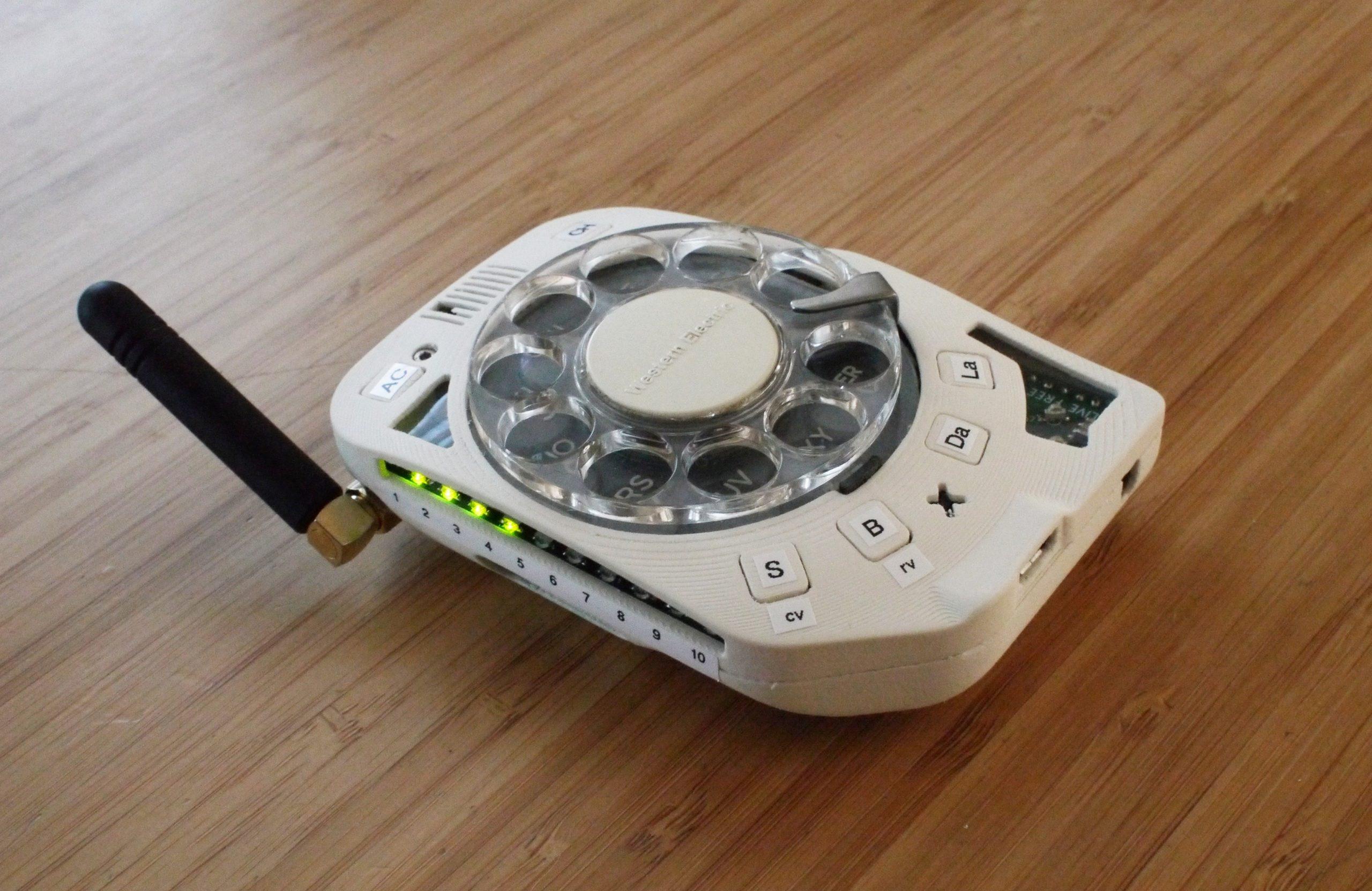 """Un Cellulare """"Rotante"""""""